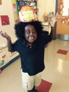 Classroom birthday celebration